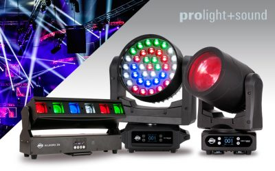 ADJ Unveil Eight Brand New Products Ahead Of The 2019 Prolight + Sound Show
