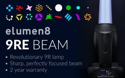 UNIQUE. REVOLUTIONARY. POWERFUL. 9RE Beam