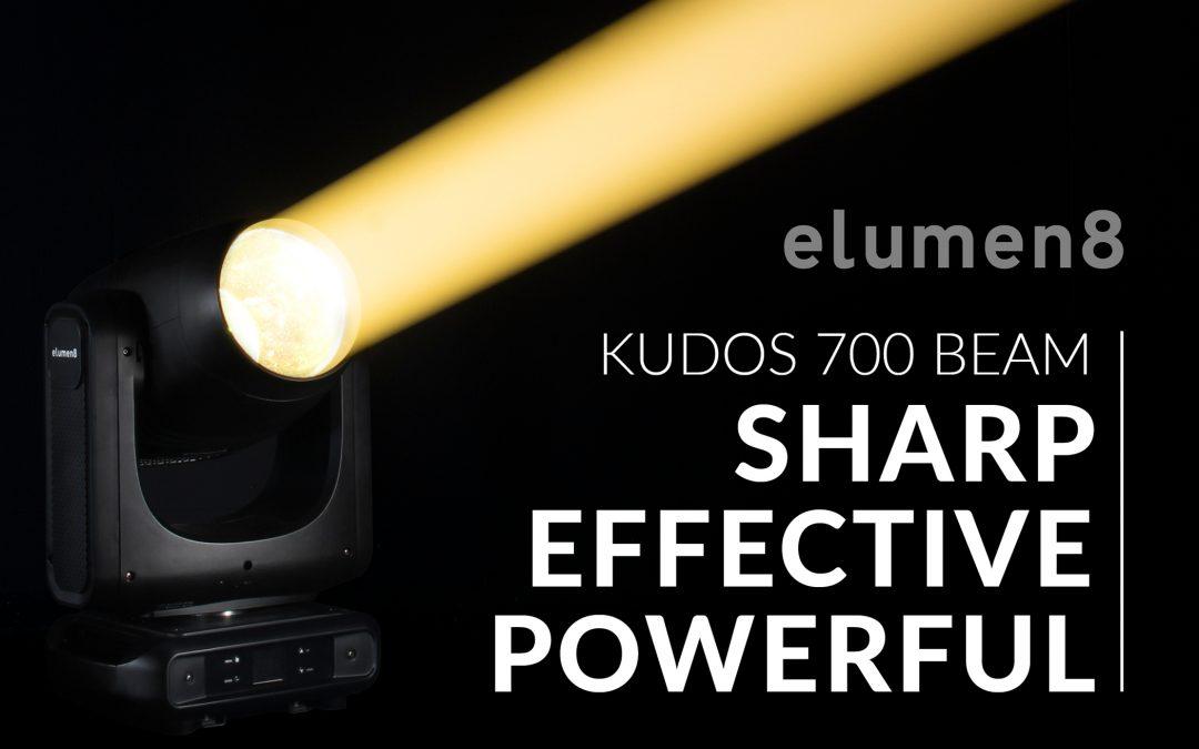 Kudos 700 Beam – SHARP. EFFECTIVE. POWERFUL.