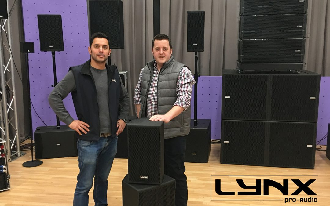 Loud and Proud! – Prolight Announce Exclusive UK Distribution of Lynx Pro-Audio