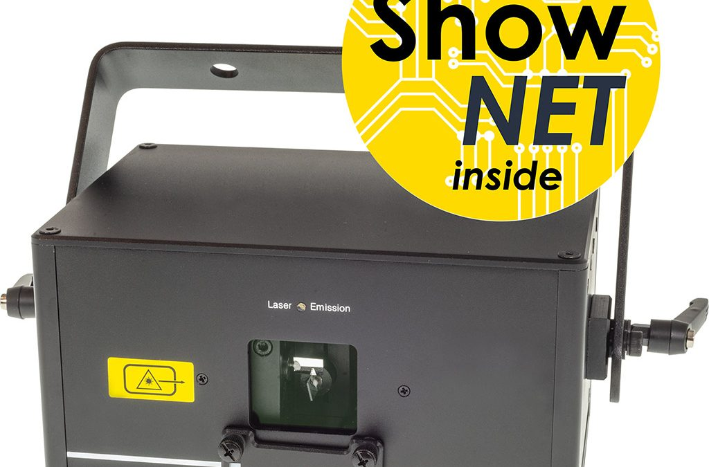 ShowNET becomes mainboard for most laser systems of the Laserworld Group