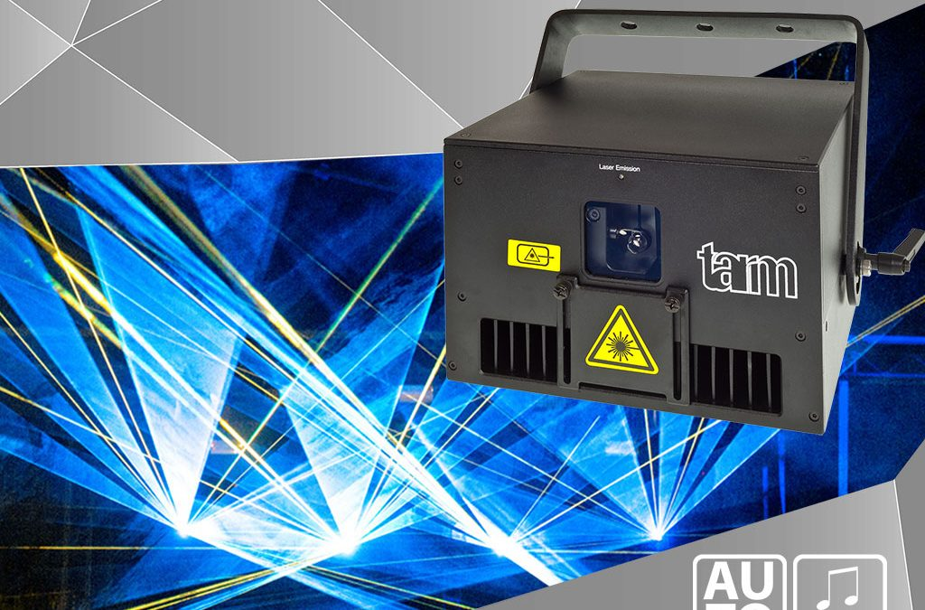 Laserworld Group releases intelligent laser light system tarm 2.5