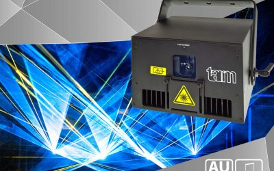 Laserworld Group releases intelligent laser light system tarm 2.5