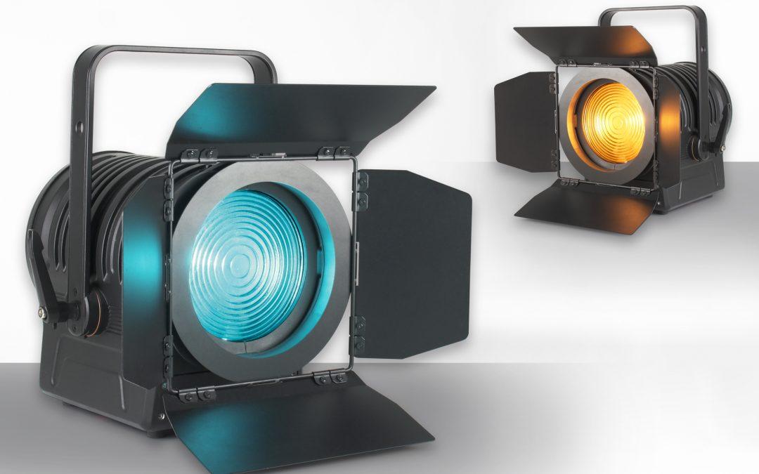 In the LIMElight – eLumen8 MP180 LED Fresnel RGBALC