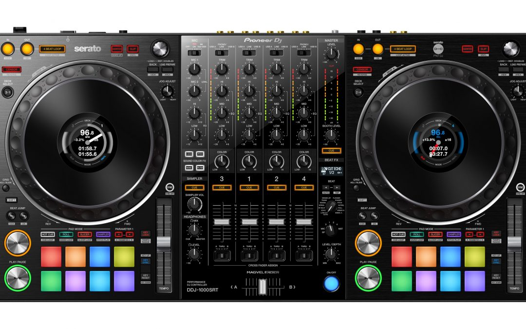 The Wait is Over: Meet the DDJ-1000SRT Pro DJ Controller