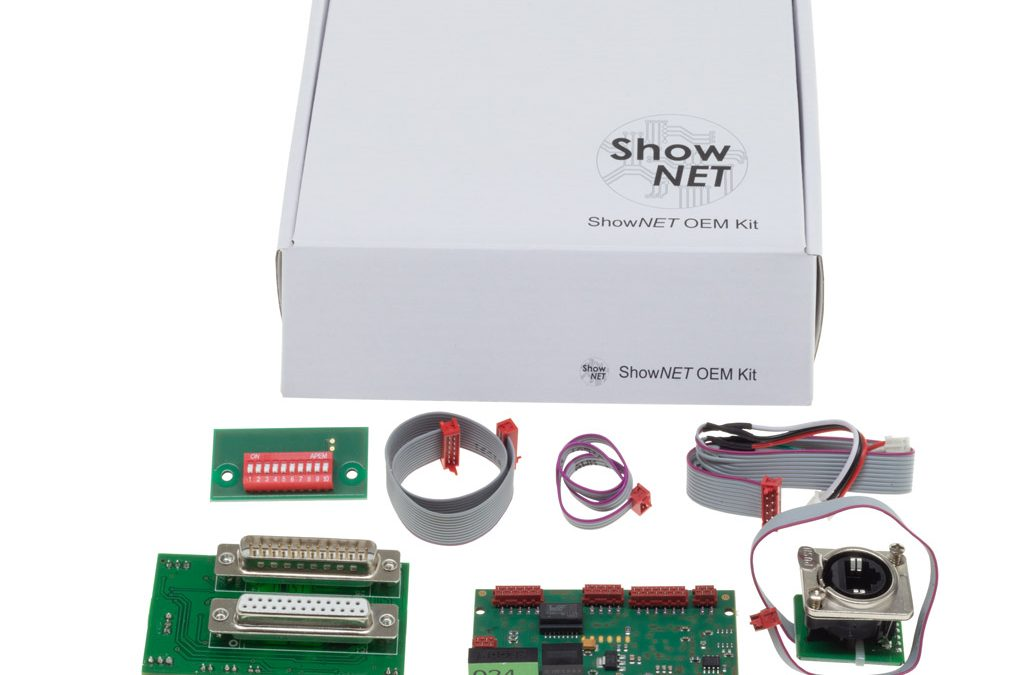 ShowNET OEM laser mainboard available for integrators