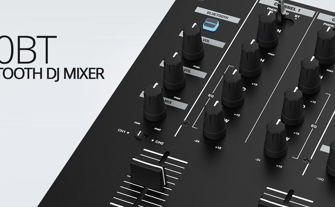 RMX10BTCompact Bluetooth Mixer